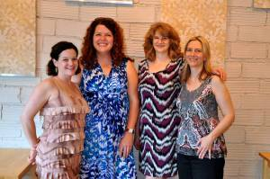 Recent reading in Harmony, Minnesota, with Beth Mayer, Amy Weldon, and Kathryn Kysar